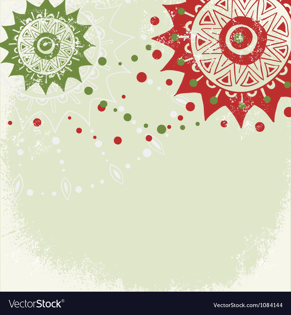 Vintage grungy new year christmas background vector | Price: 1 Credit (USD $1)