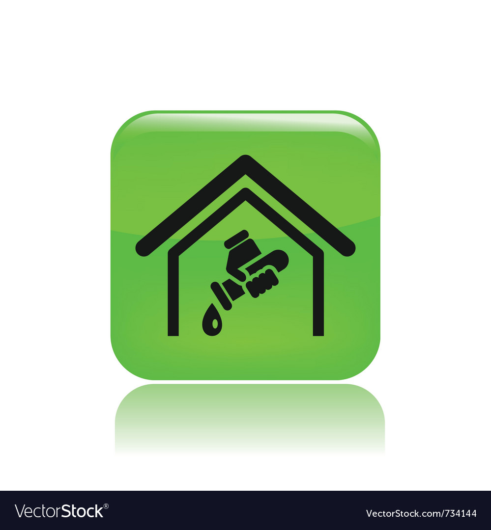 Water house icon vector | Price: 1 Credit (USD $1)
