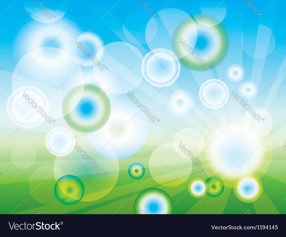 Abstract clean green background vector | Price: 1 Credit (USD $1)