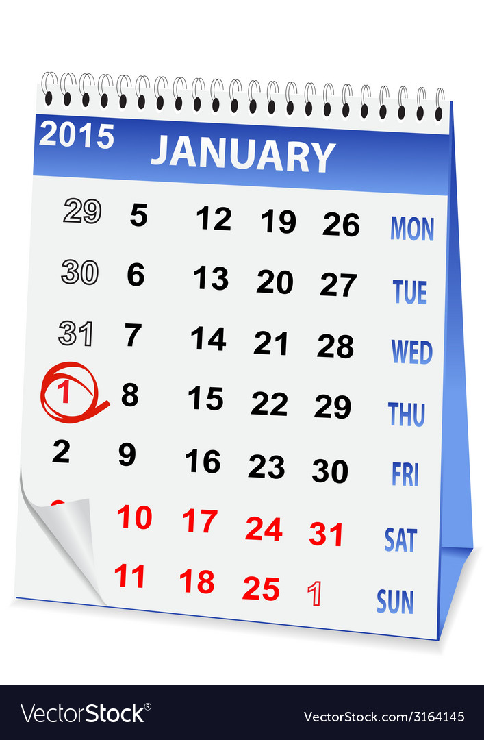 Icon calendar christmas vector | Price: 1 Credit (USD $1)