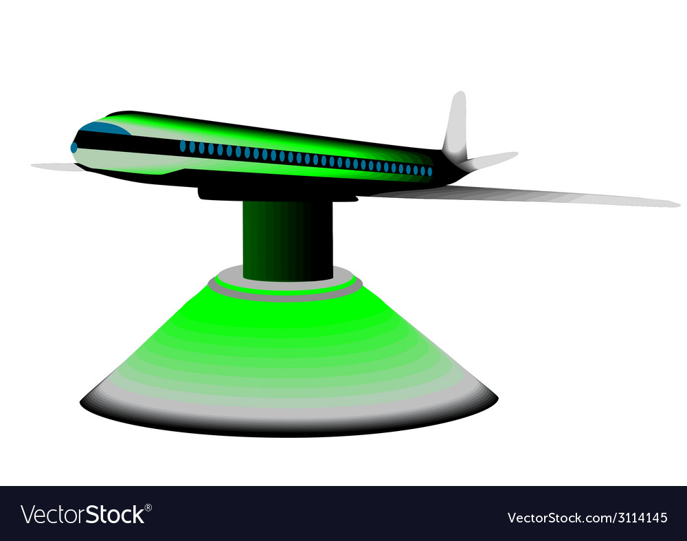 Model airplane vector | Price: 1 Credit (USD $1)