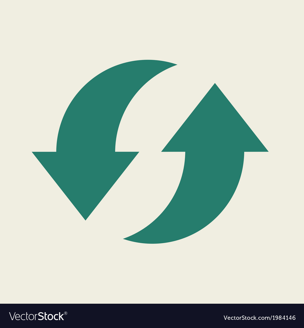 Eco flat icon vector | Price: 1 Credit (USD $1)