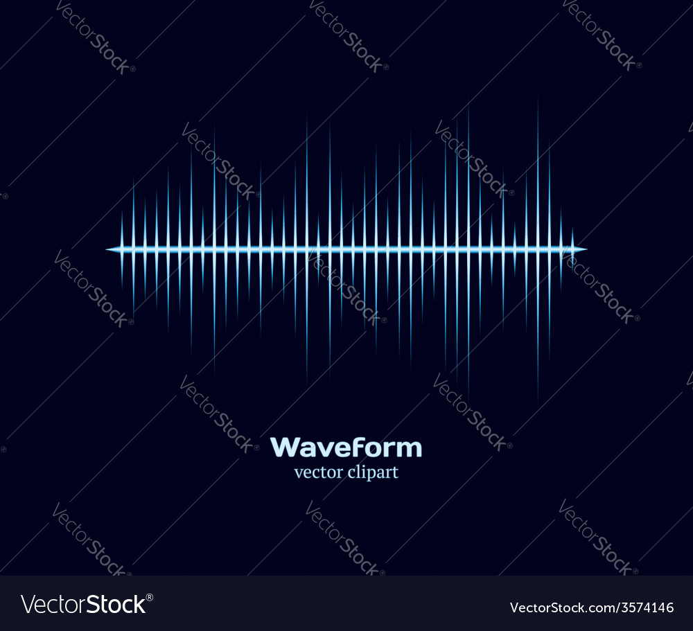 Ice cold waveform vector | Price: 1 Credit (USD $1)