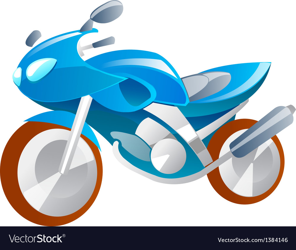Icon motorbike vector | Price: 1 Credit (USD $1)