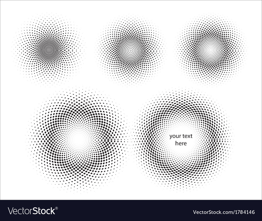 Print circles vector | Price: 1 Credit (USD $1)