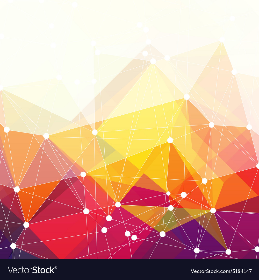 Abstract triangles design vector | Price: 1 Credit (USD $1)