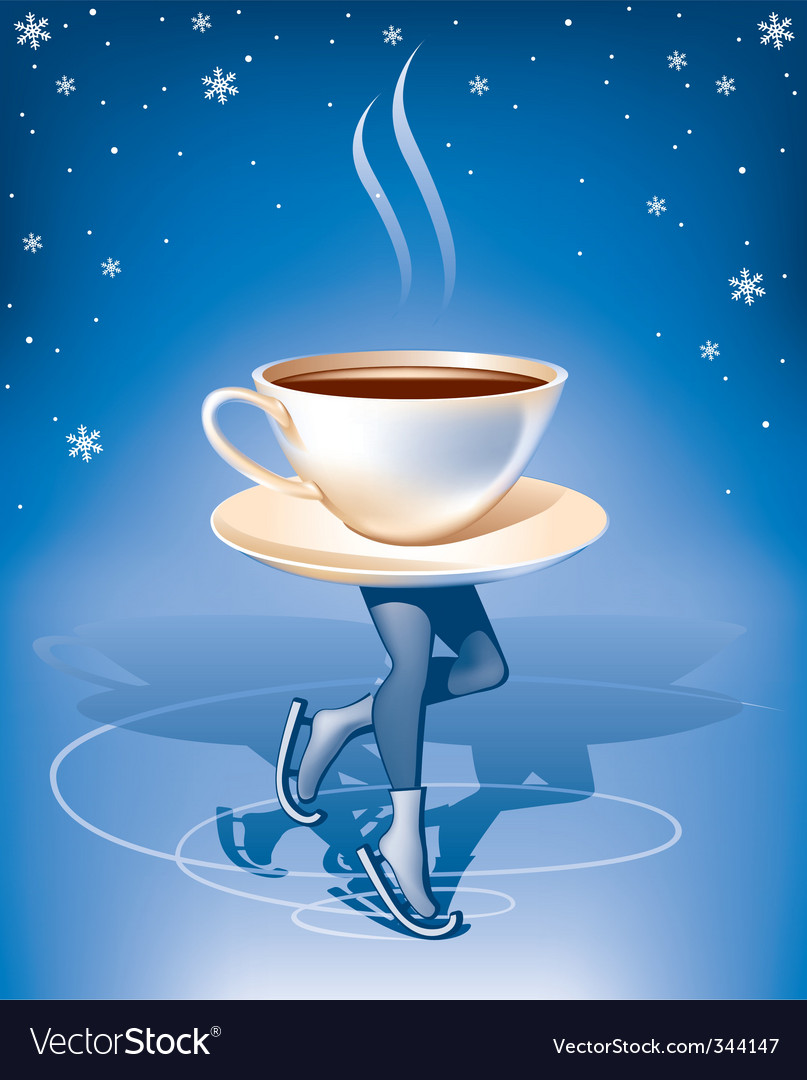 Coffee on ice vector | Price: 3 Credit (USD $3)