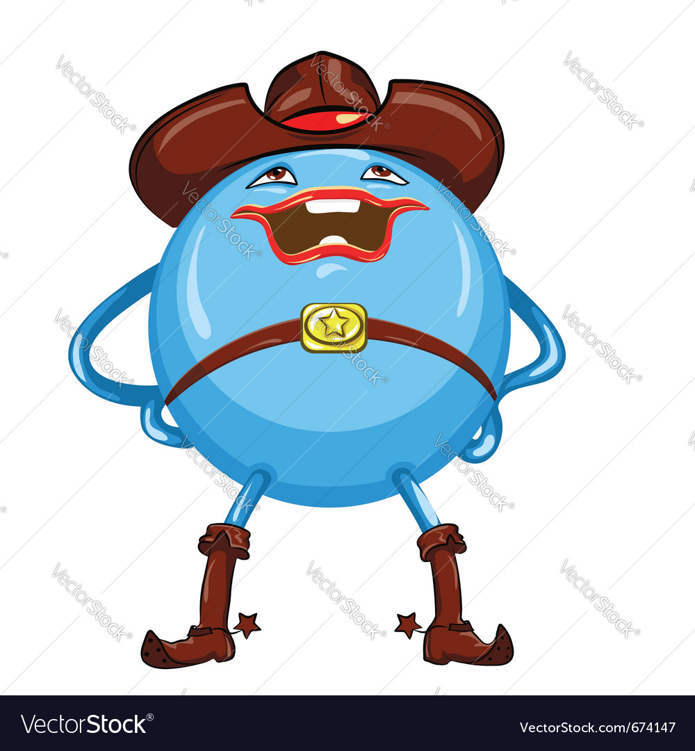 Cowboy hat vector | Price: 1 Credit (USD $1)