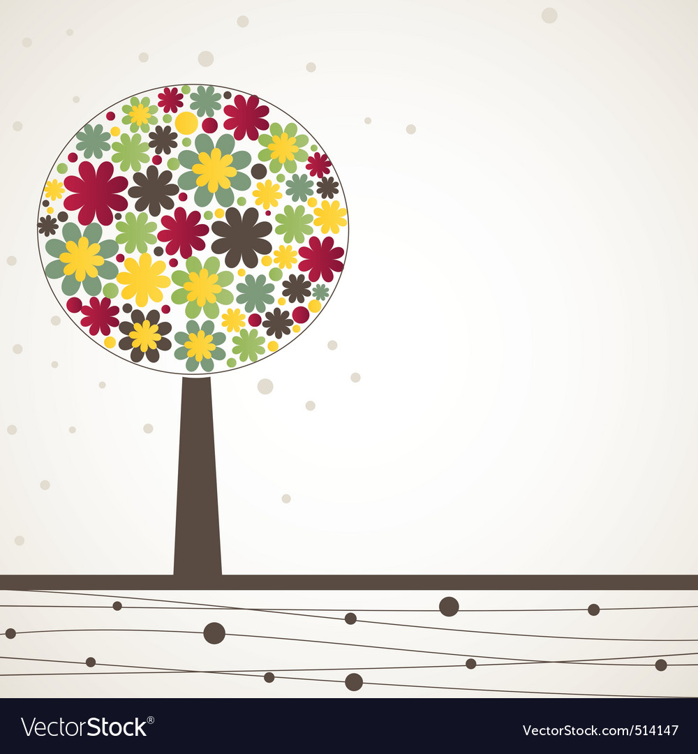 Ct tree vector illustration vector | Price: 1 Credit (USD $1)