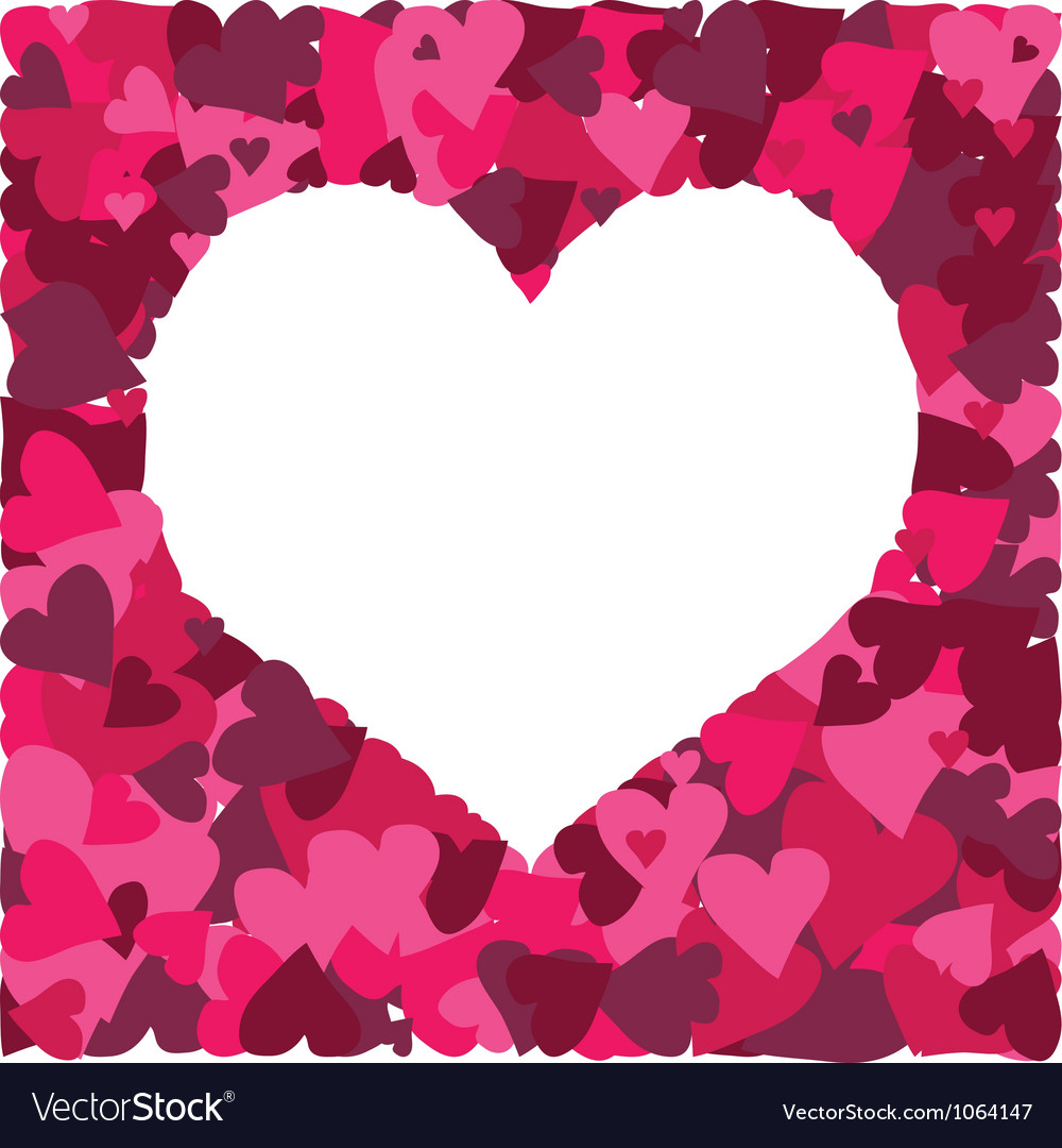 Cute background with a million of hearts vector | Price: 1 Credit (USD $1)