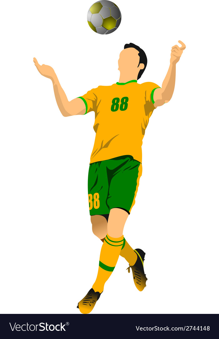 Al 0543 soccer 01 vector | Price: 1 Credit (USD $1)