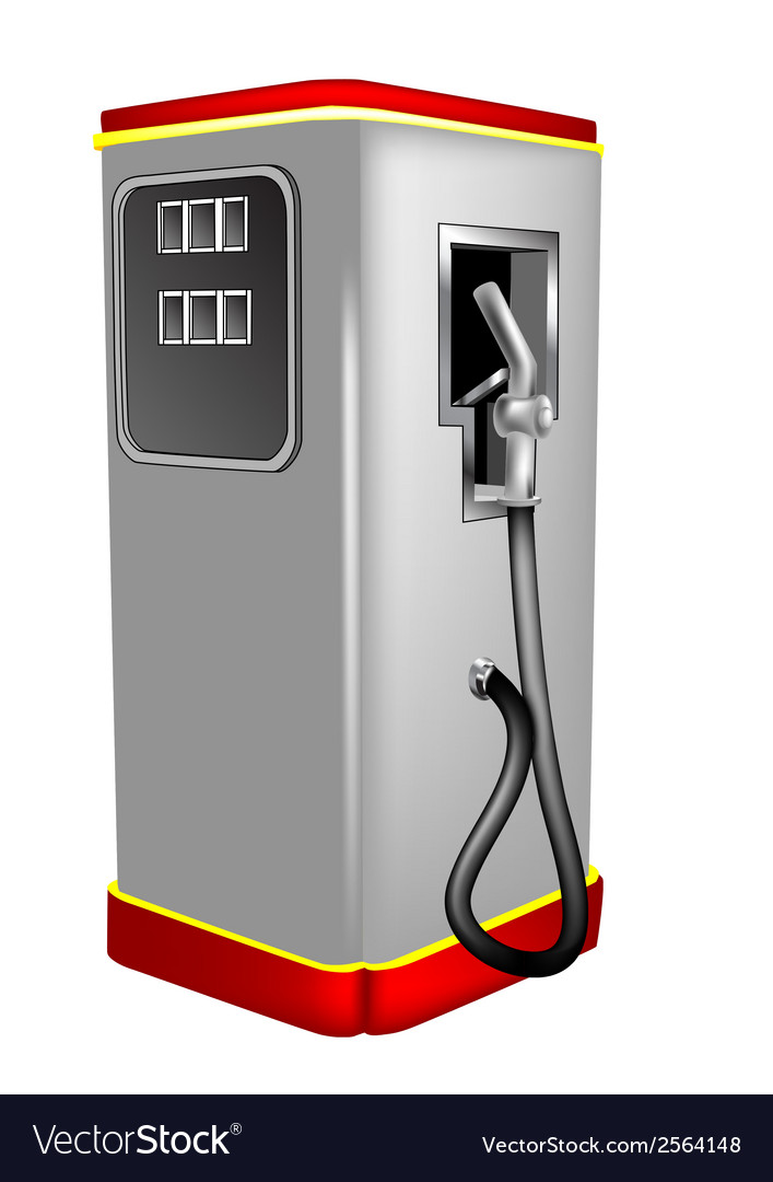Gas pump vector | Price: 1 Credit (USD $1)