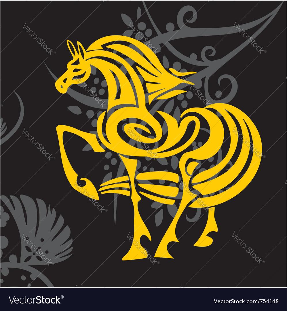 Horse design - vector   Price: 1 Credit (USD $1)