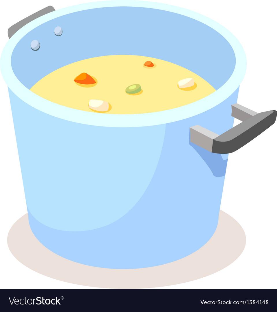 Icon soup vector | Price: 1 Credit (USD $1)