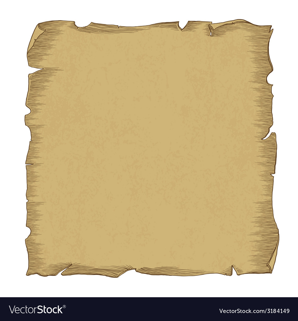 Aged scroll paper vector | Price: 1 Credit (USD $1)