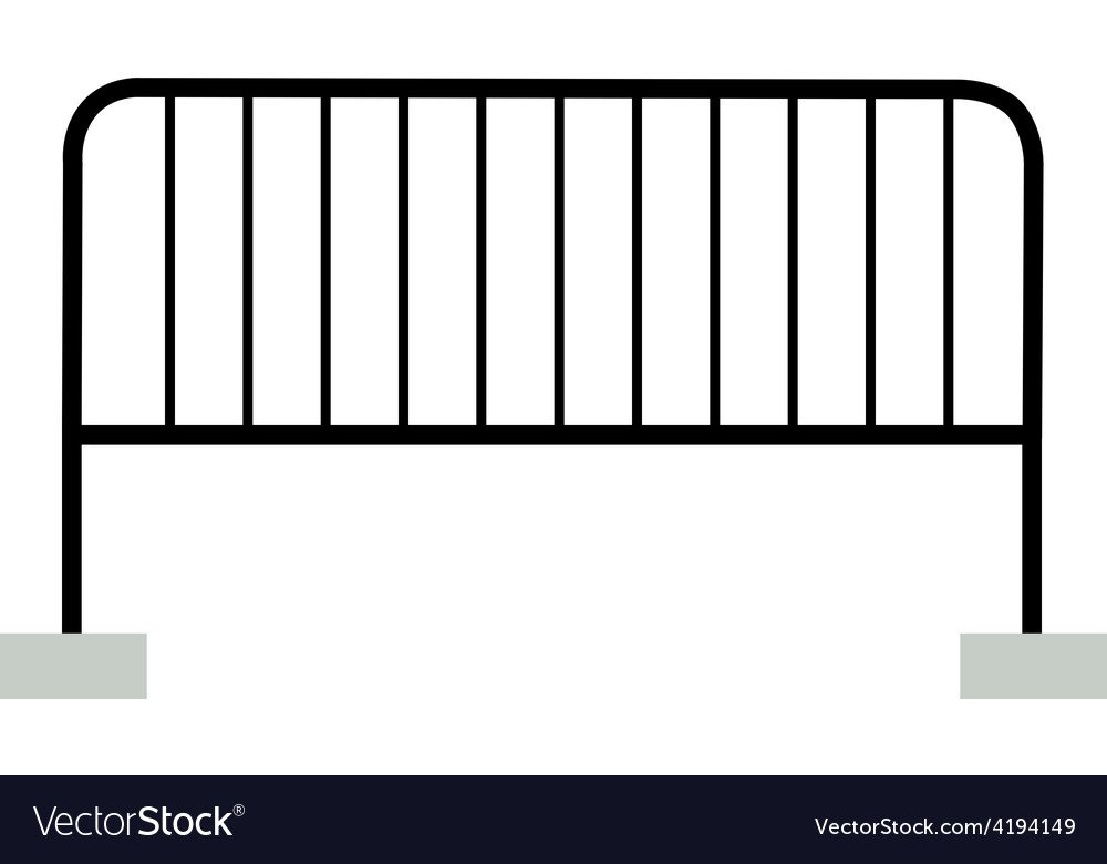 Black barrier vector | Price: 1 Credit (USD $1)
