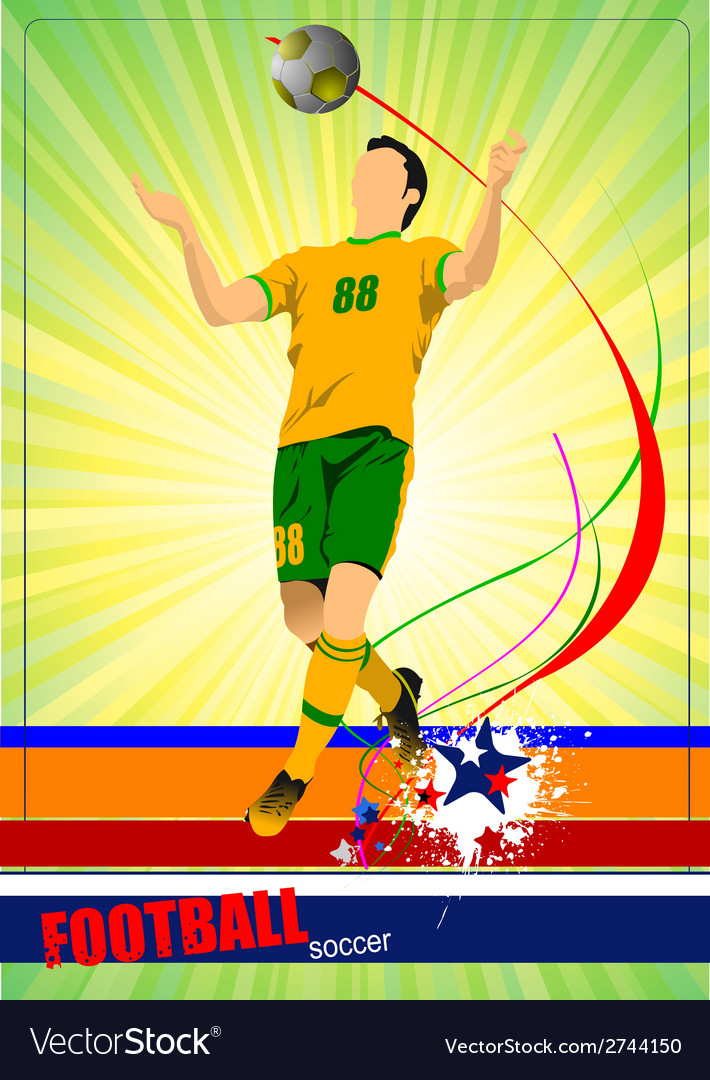 Al 0543 soccer 02 vector | Price: 1 Credit (USD $1)