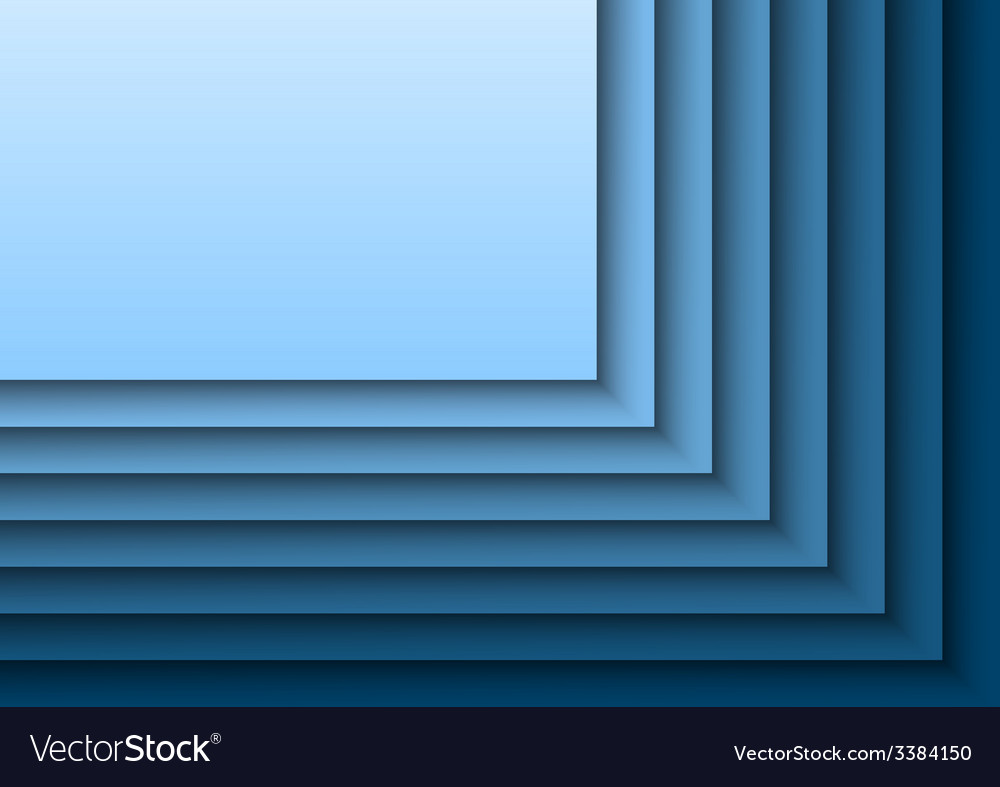 Blue layeres vector | Price: 1 Credit (USD $1)