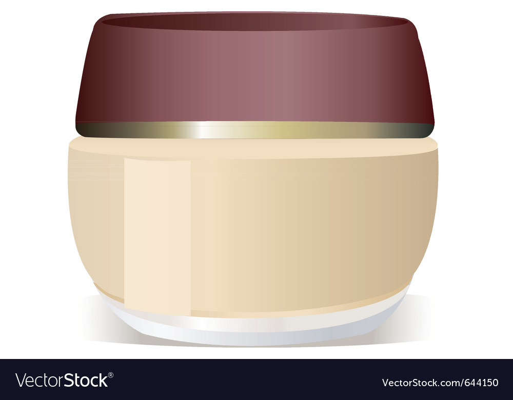 Cosmetics container vector | Price: 1 Credit (USD $1)