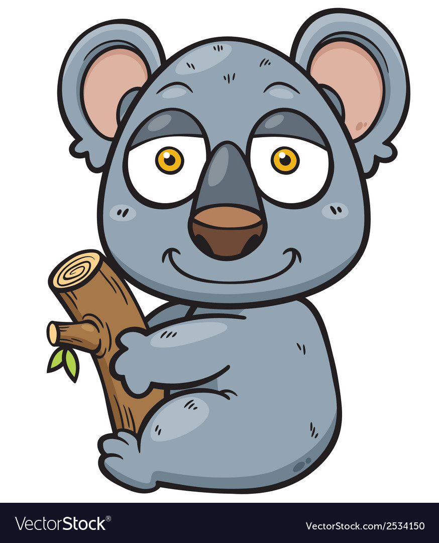 Koala vector | Price: 1 Credit (USD $1)