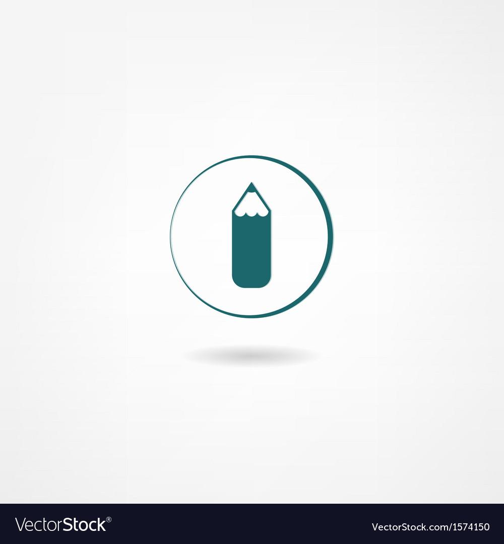 Pencil icon vector | Price: 1 Credit (USD $1)
