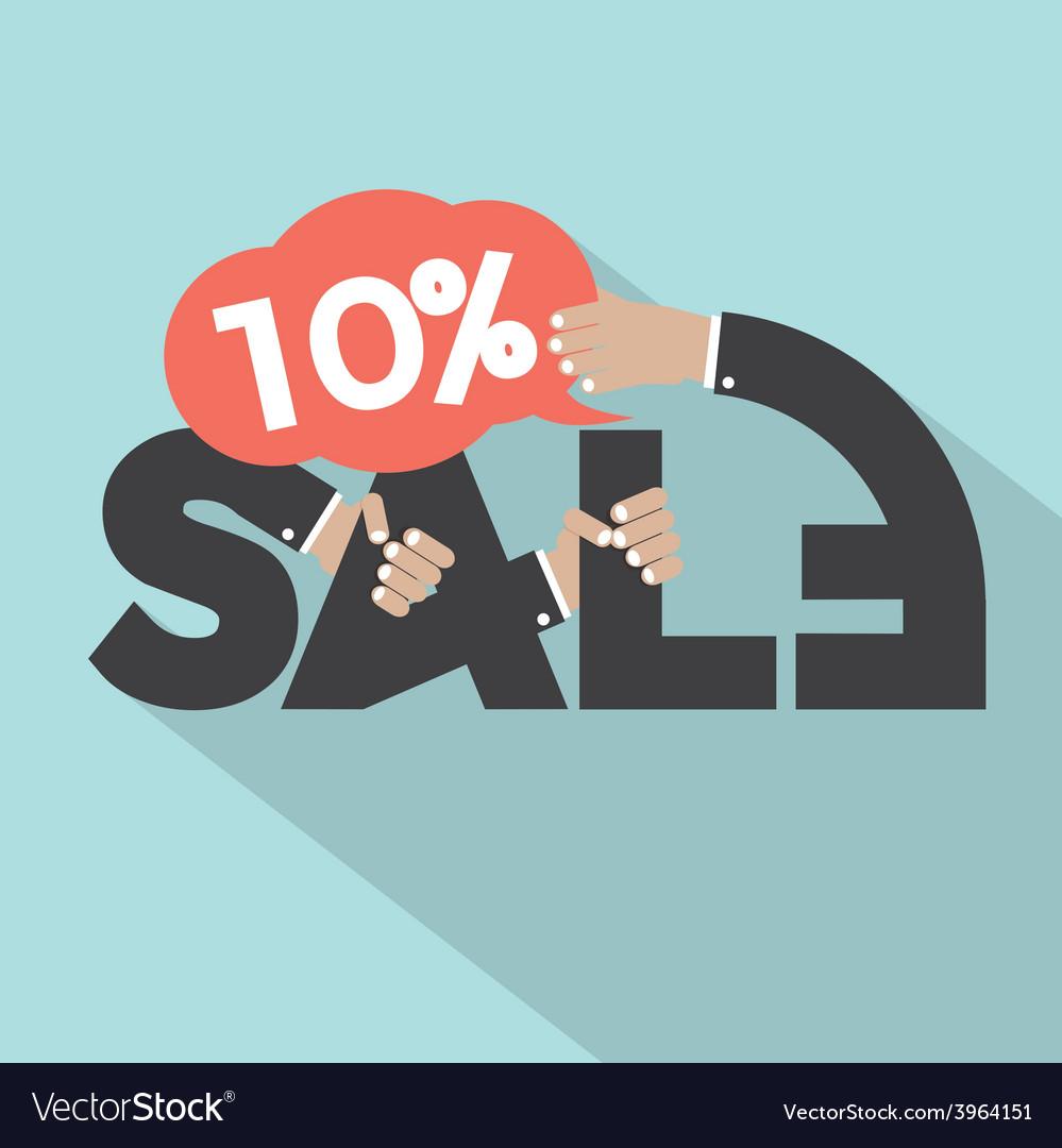 10 percent discount typography design vector   Price: 1 Credit (USD $1)