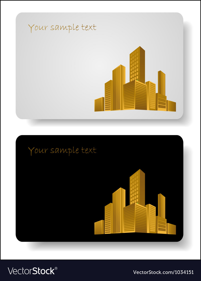 Abstract corporate city buildings vector | Price: 1 Credit (USD $1)