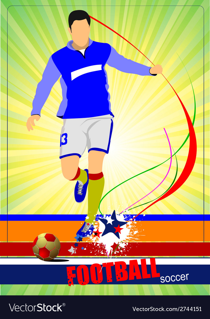 Al 0543 soccer 03 vector | Price: 1 Credit (USD $1)