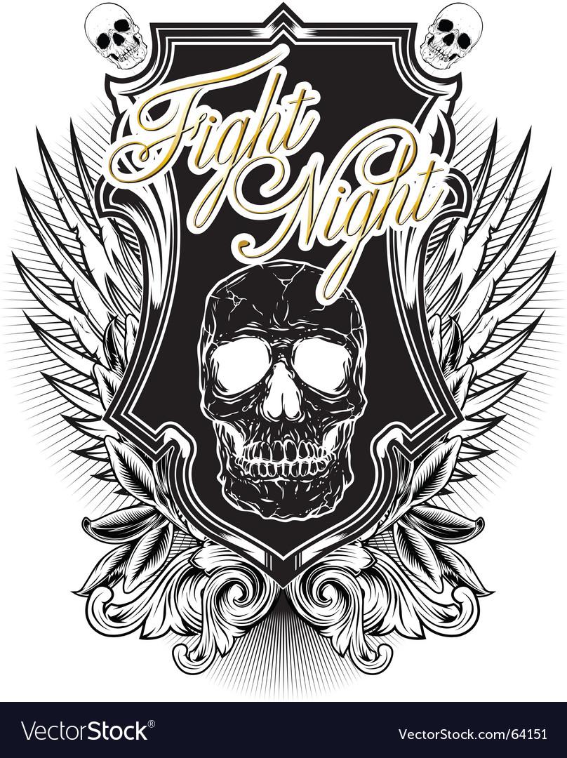 Fight night vector | Price: 1 Credit (USD $1)