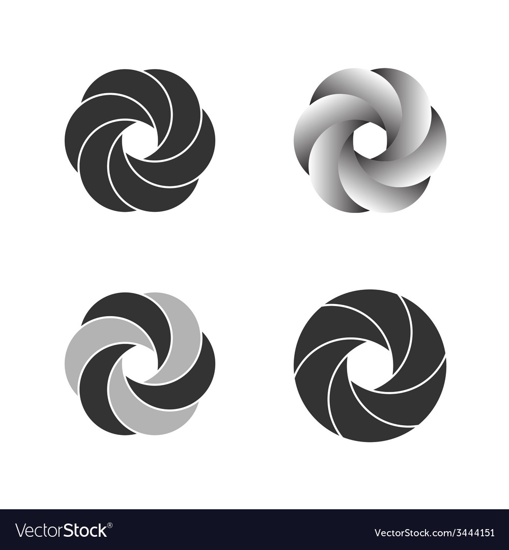 Logo or emblem template icon vector | Price: 1 Credit (USD $1)