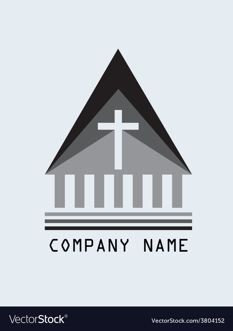 Church logo vector | Price: 1 Credit (USD $1)
