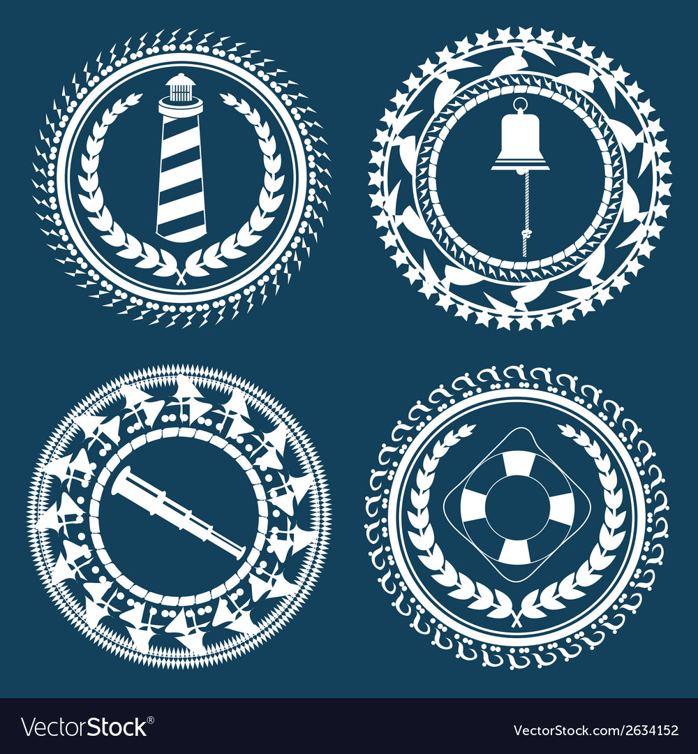 Nautical symbols 2 vector | Price: 1 Credit (USD $1)