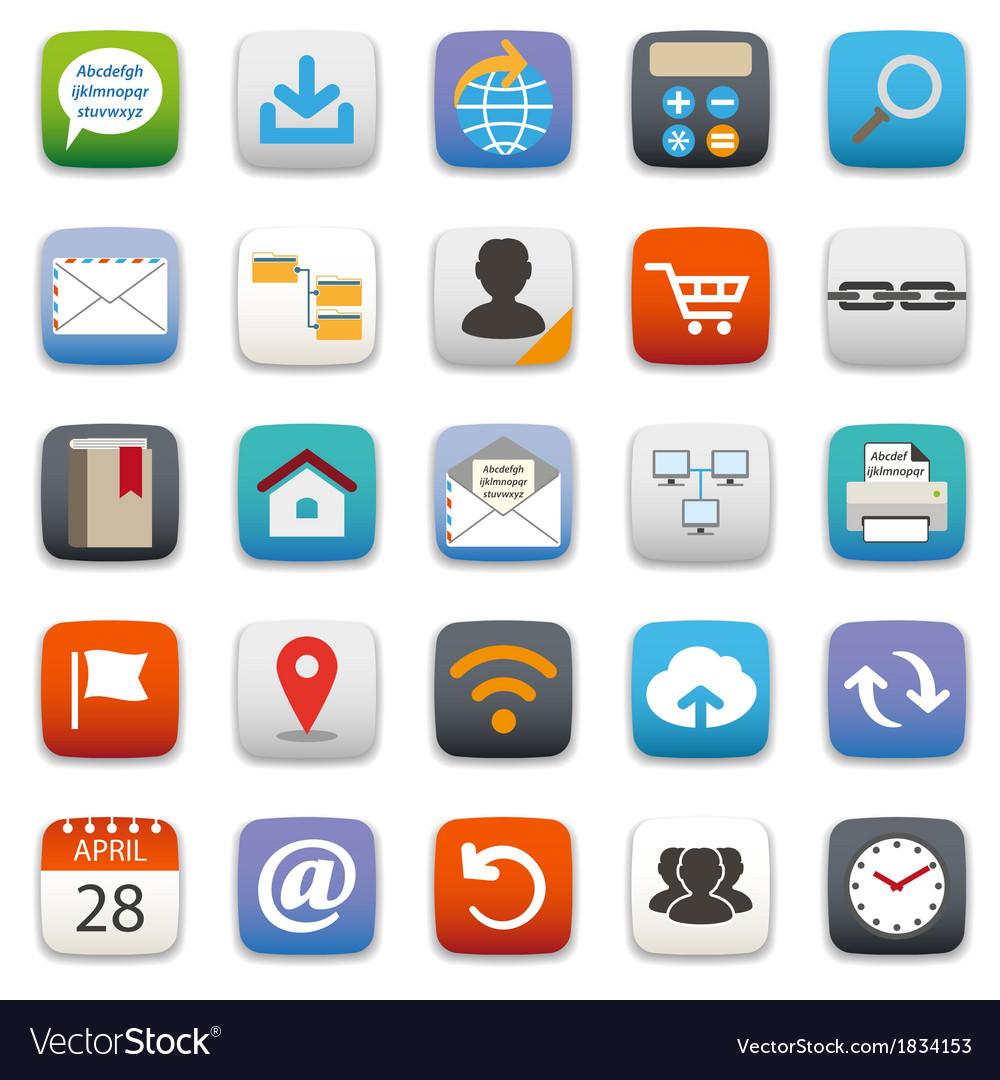Website icon vector   Price: 1 Credit (USD $1)