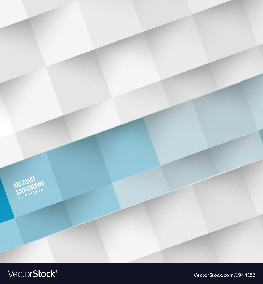 White squares abstract background vector | Price: 1 Credit (USD $1)
