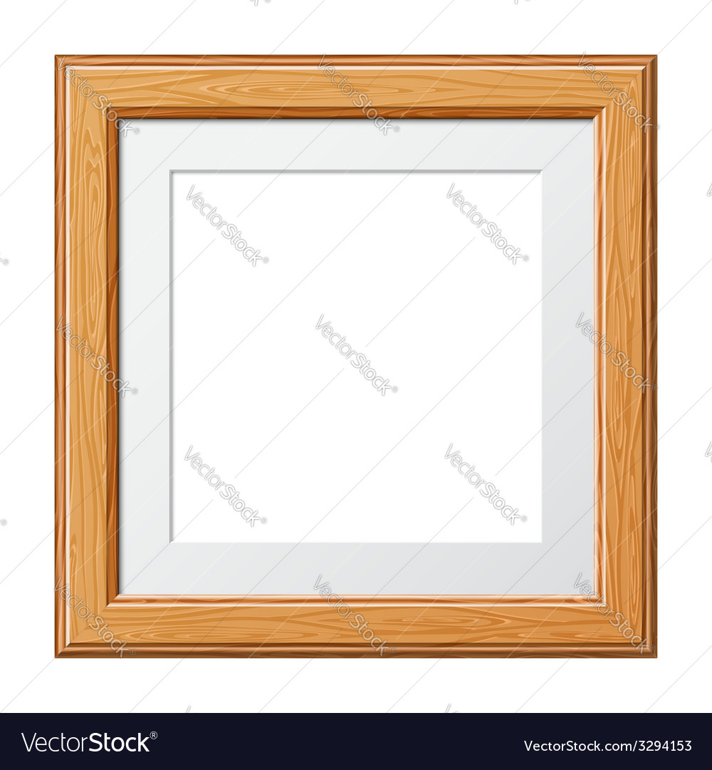 Wooden frame vector | Price: 1 Credit (USD $1)
