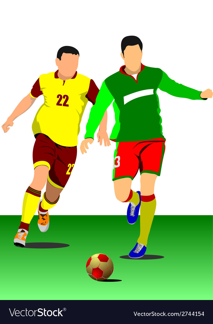Al 0543 soccer 04 vector | Price: 1 Credit (USD $1)