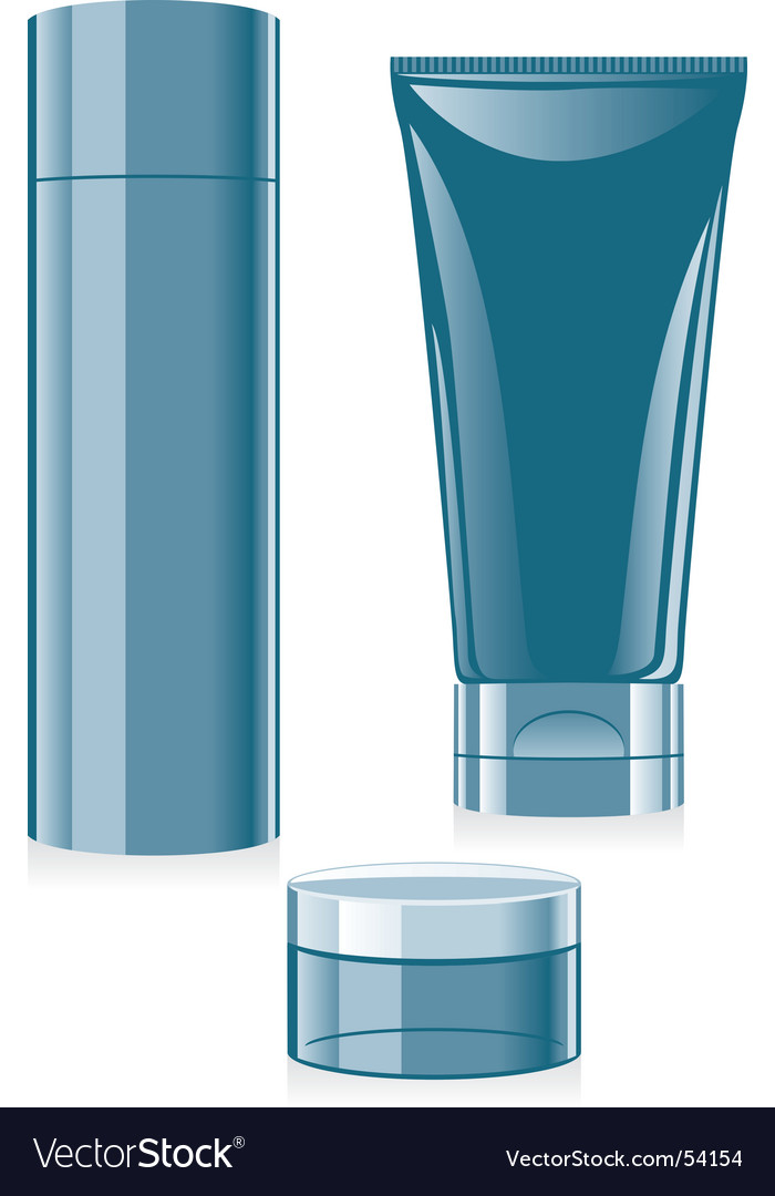 Cosmetics set vector | Price: 1 Credit (USD $1)