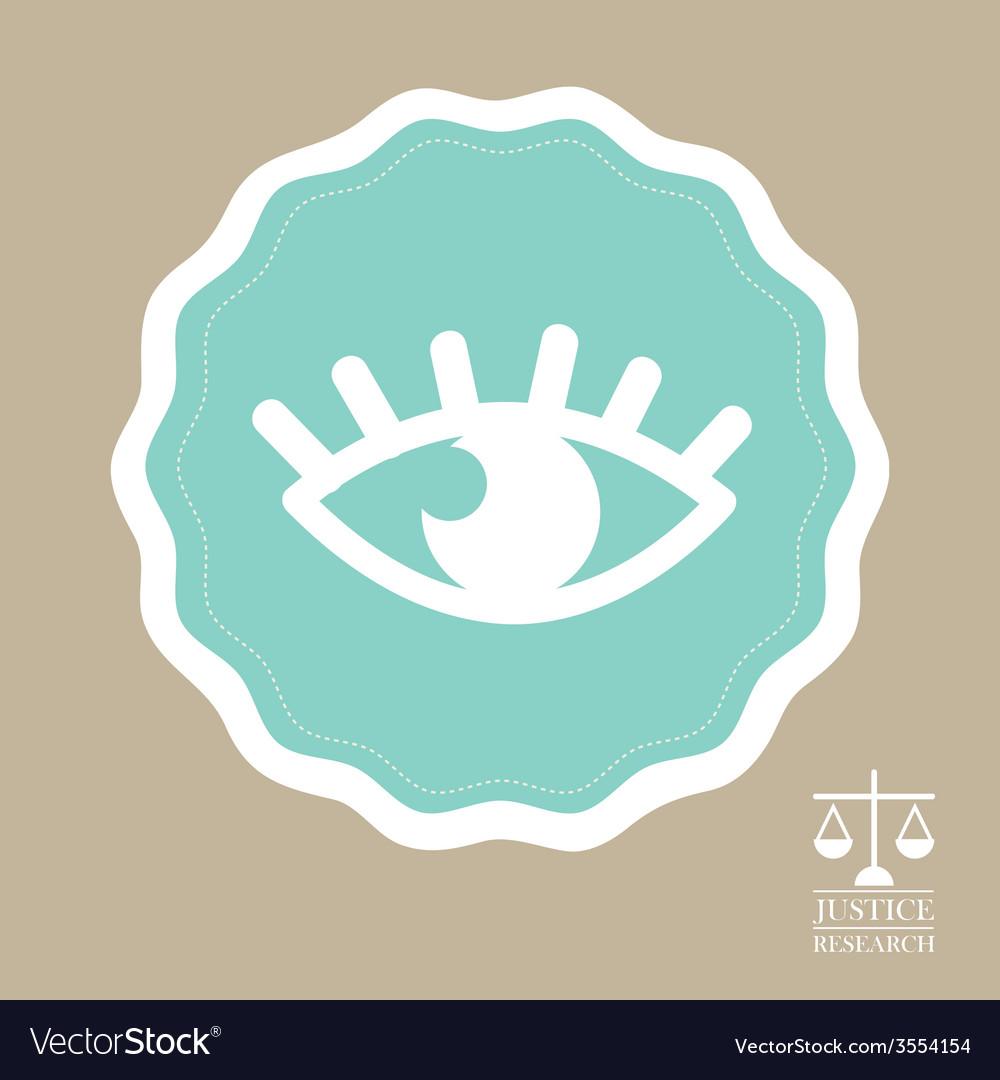 Justice icon vector | Price: 1 Credit (USD $1)