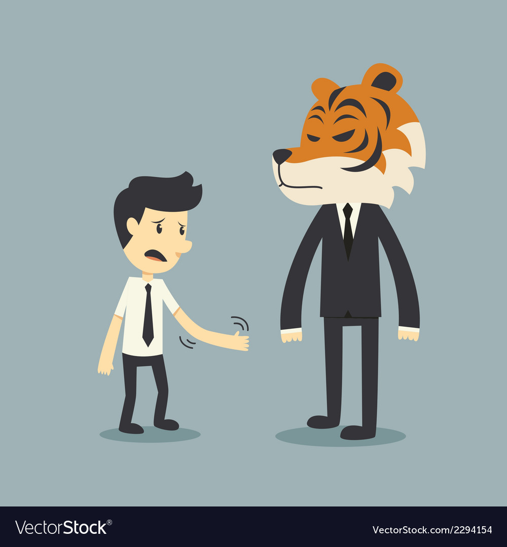 Tiger risk vector | Price: 1 Credit (USD $1)