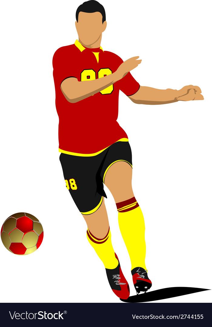 Al 0543 soccer 05 vector | Price: 1 Credit (USD $1)