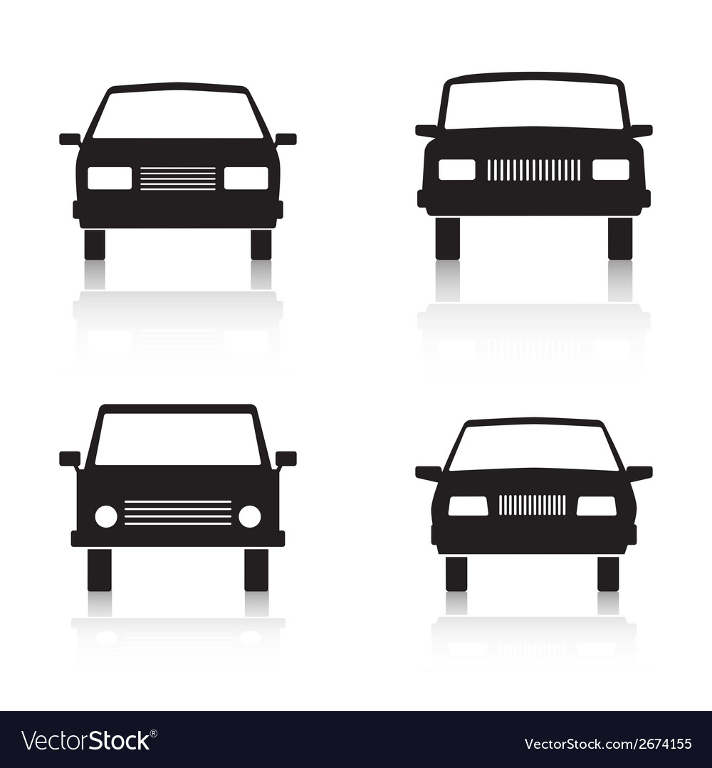 Cars black icons vector | Price: 1 Credit (USD $1)