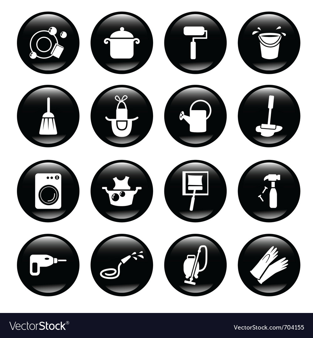 House appliances set vector | Price: 1 Credit (USD $1)
