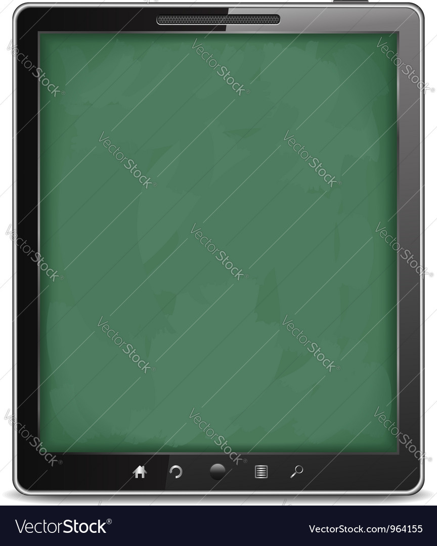 Tablet computer vector   Price: 1 Credit (USD $1)