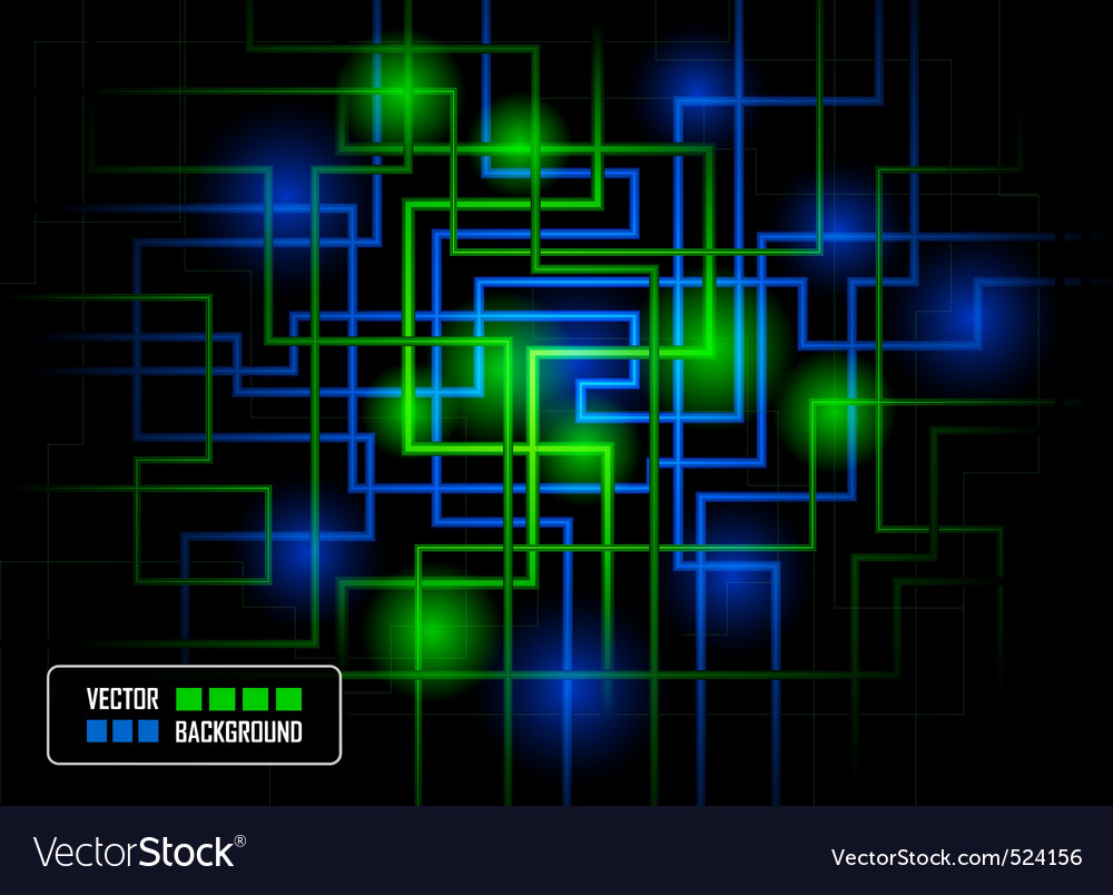 hitech concept against dark background vector | Price: 1 Credit (USD $1)