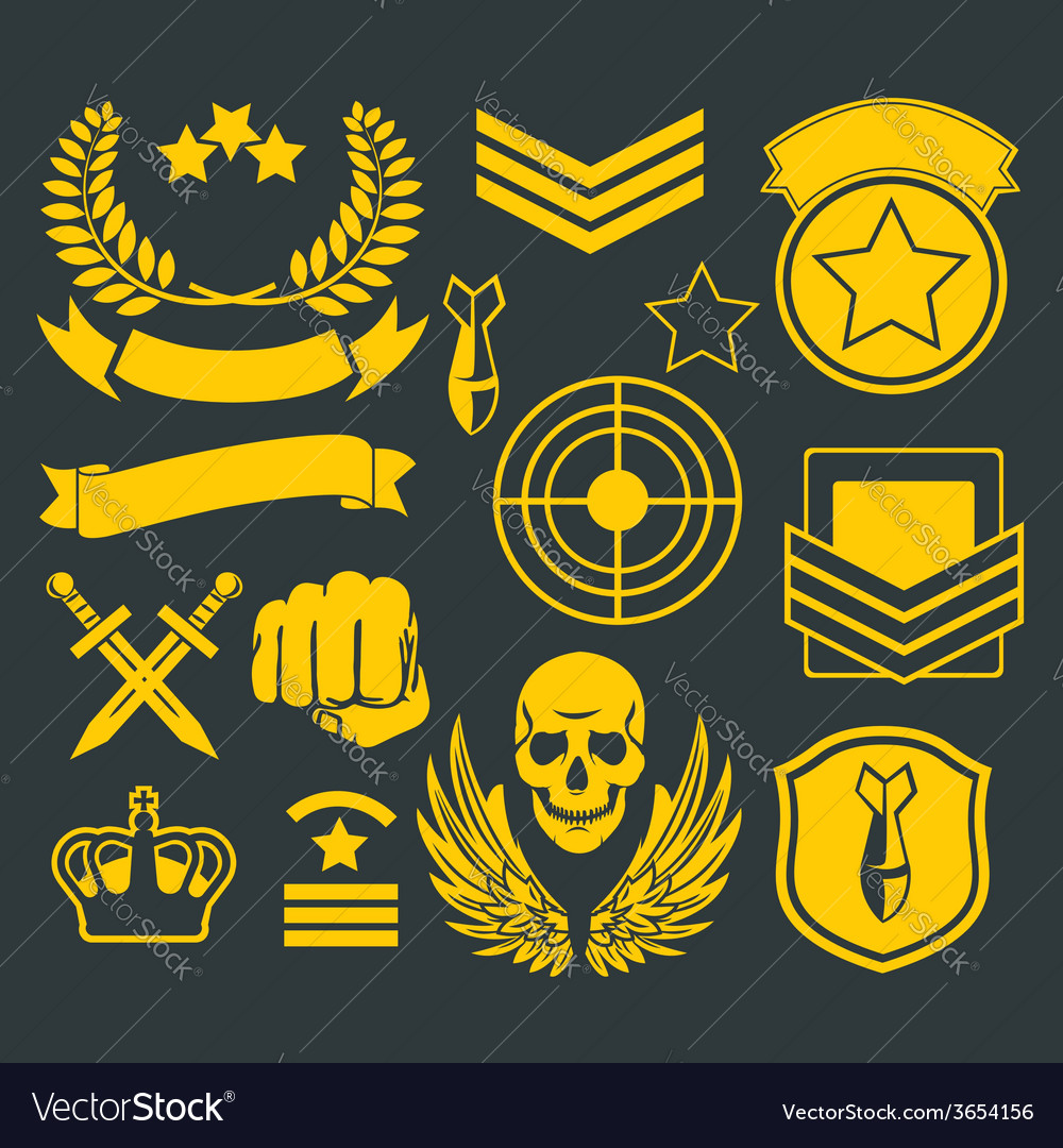 Special unit military patch vector | Price: 1 Credit (USD $1)