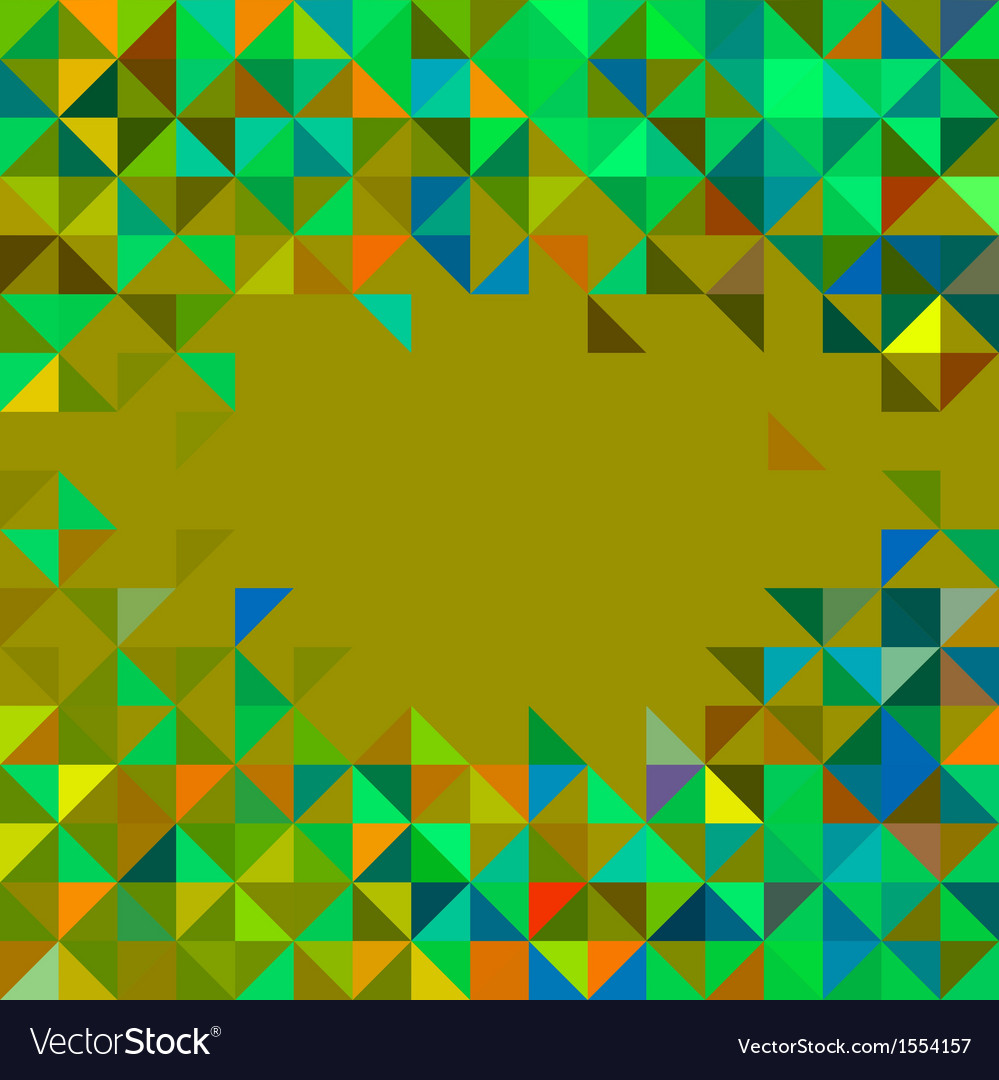 Abstract geometric color frame vector | Price: 1 Credit (USD $1)
