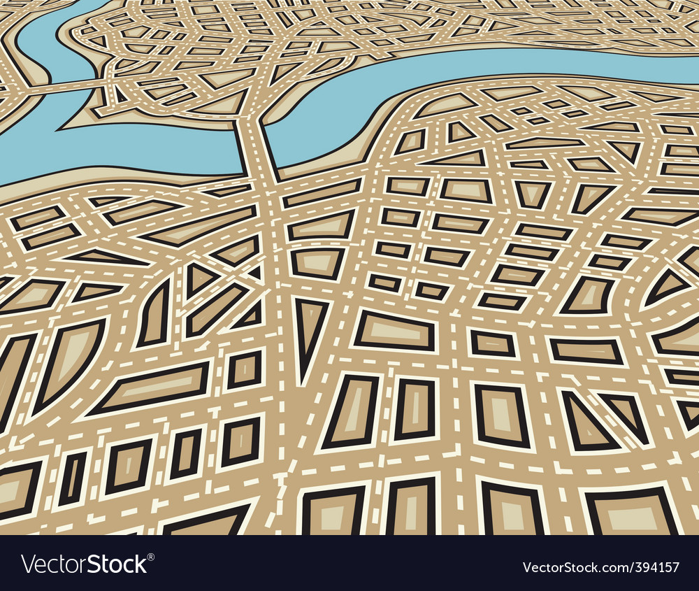 Angled city vector | Price: 1 Credit (USD $1)