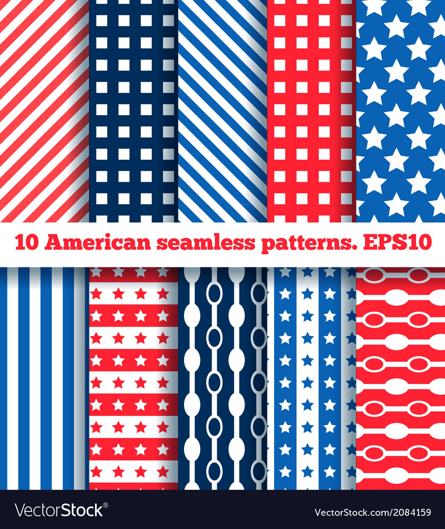 American pattern vector | Price: 1 Credit (USD $1)