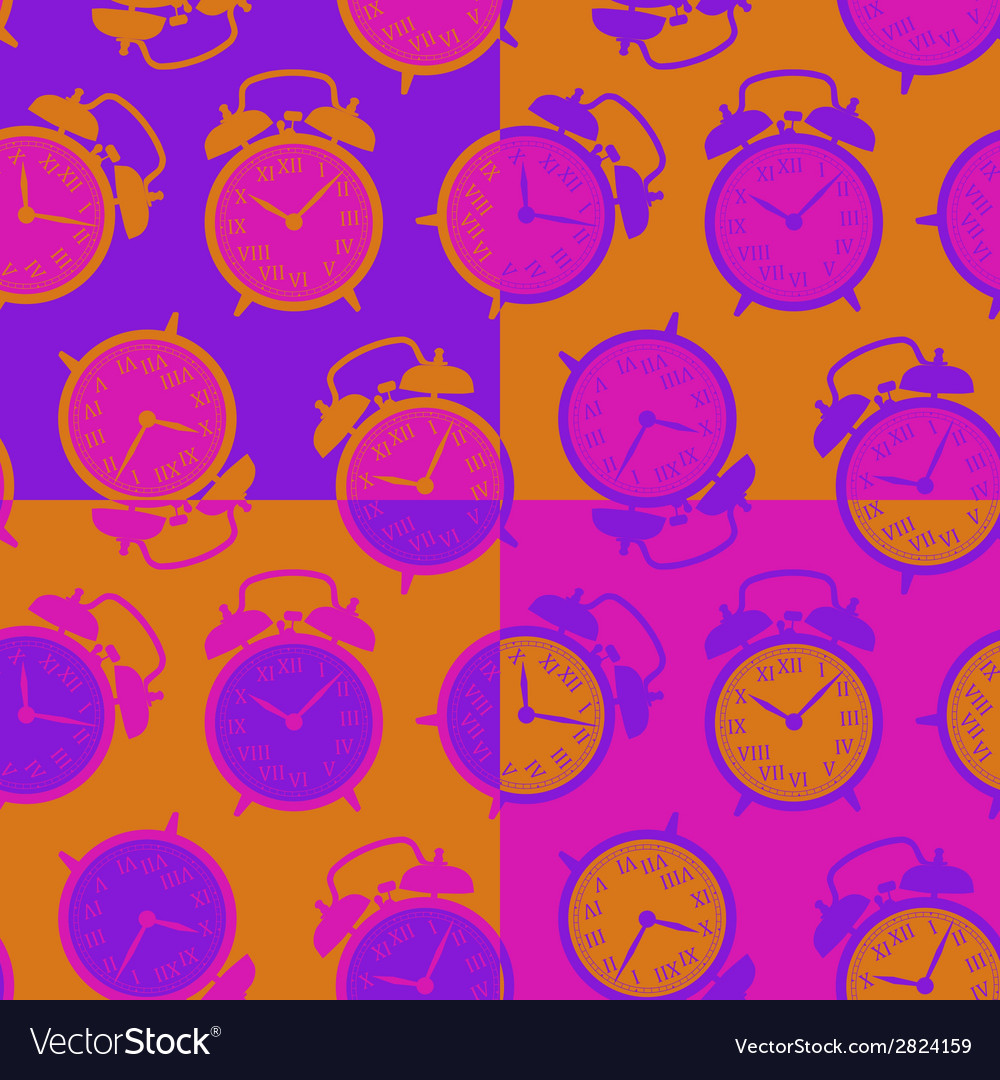 Clock seamless background vector   Price: 1 Credit (USD $1)