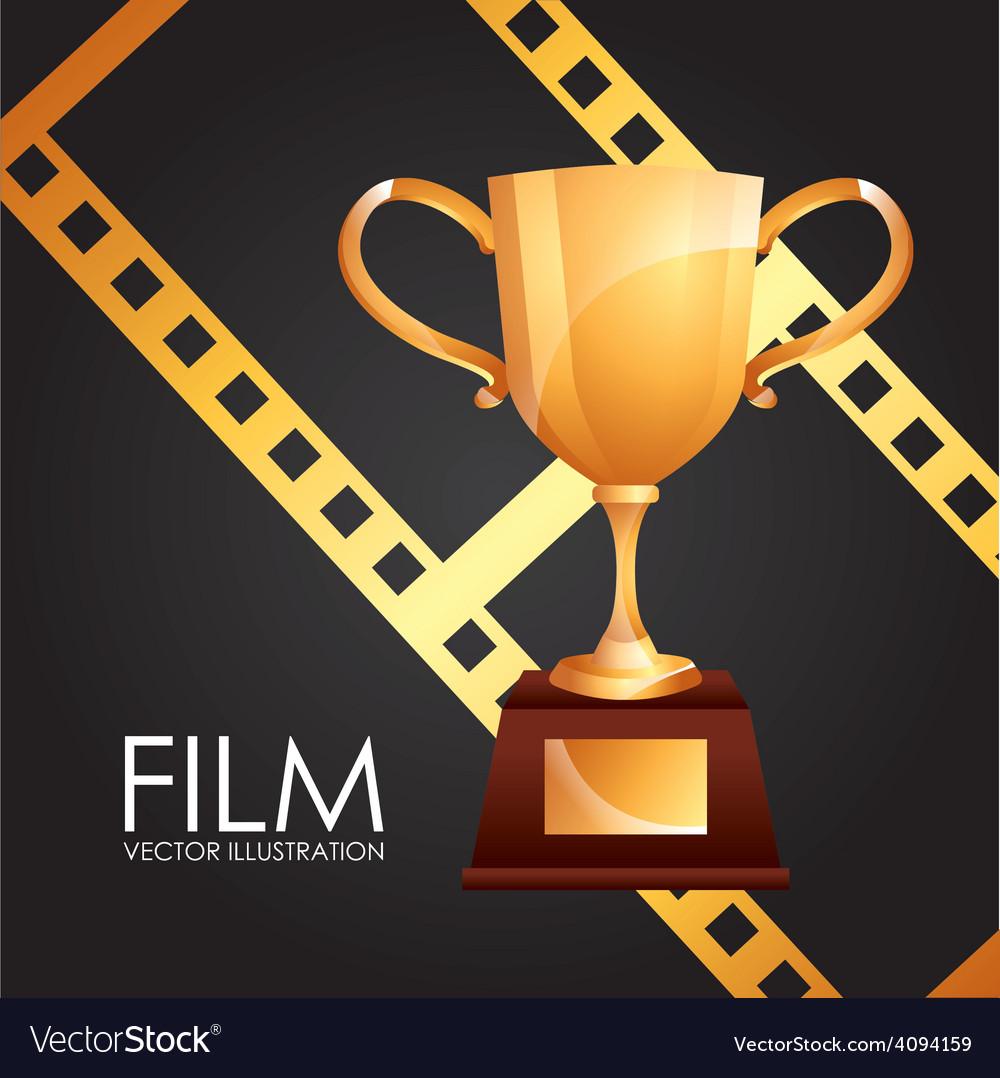 Film award vector   Price: 1 Credit (USD $1)